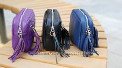 Кожаный клатч сумка Stina Италия разные цвета