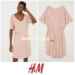 Базовое трикотажное платье от h&m