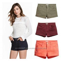 Короткие шорты для девушек 4 цвета  от h&m