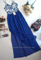 Длинная прозрачная юбка 34, 36, 38 евро от h&m