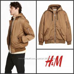 Куртка деми горчичного цвета от h&m