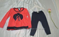 костюм, комплект штаны и кофточка