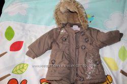 Теплая курточка для малышки