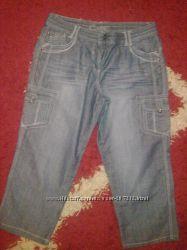 Бриджи  джинсовые  женские. Новые.