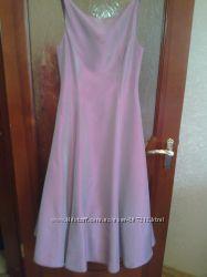 Платье на выпускной для стройной  выпускницы.