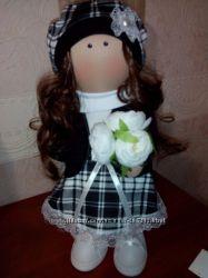 Кукла текстильная ручной работы. Новая.