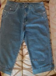 Бриджи джинсовые женские стильные.