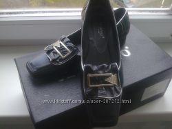Туфли стильные на низком каблуке