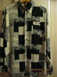 Оригинальная мужская рубашка на рост 176-182