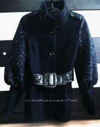 Пальто демисезонное Stella Polare, черного цвета на худенькую девушку р. 42