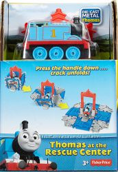 Паровозик Fisher-Price Thomas & Friends Take-N-Play Thomas at the Rescue