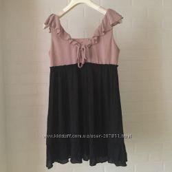 Стильное платье туника Mystree размер S шелк и вискоза