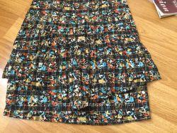 Яркая юбка от Fairground Австралия размер XS-S хлопок