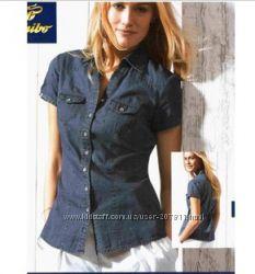 Джинсовая рубашка Giani Feroti размер 44-46