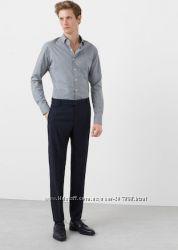 брюки  Mango, вовна, 46eur, 52 розмір укр, проліт