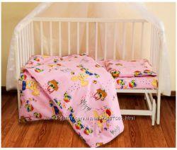 Детский комплект постельного розовый ТЕП Черновцы
