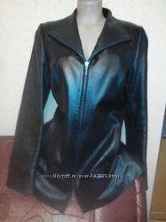 Кожаная куртка, 48 размер