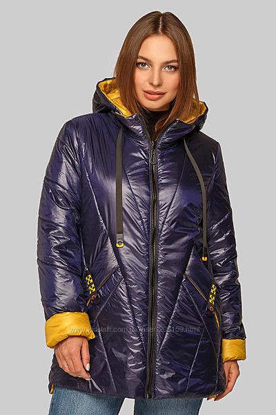 Практичные демисезонные куртки на каждый день, размеры до 62