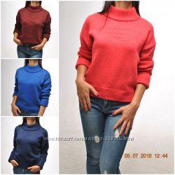 Теплые свитера - бойфренды крупной вязки. Море цветов 4dd93f994a573