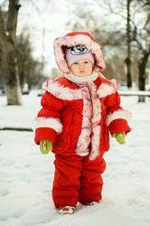 Зимовий комбінезон та куртка