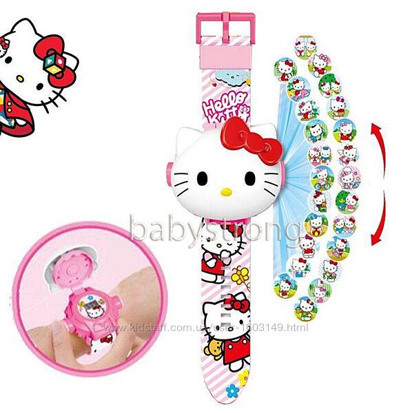 Проекционные детские часы Хелло Китти Hello Kitty  - 24 вида изображения