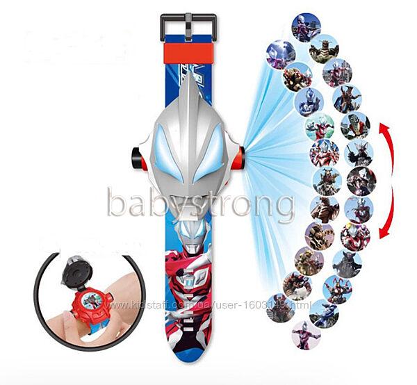 Проекционные детские часы Ультрамэн - Ultraman Супер Герой