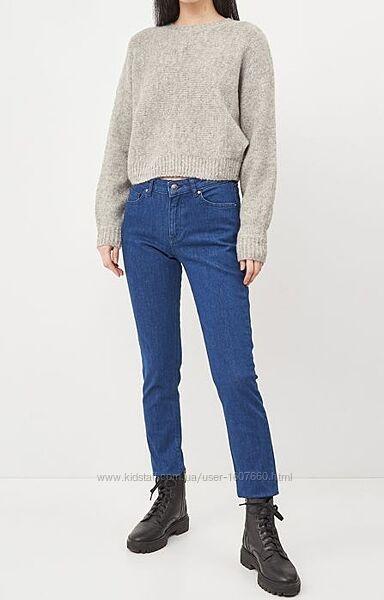 Новые джинсы H&M XS 34 25 прямые синие