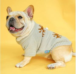 Свитер одежда для собак французский бульдог мопс реглан комбинезон
