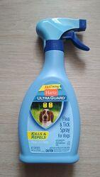Hartz ultra guard Хартс спрей для собак от блох и клещей 473 мл H10623