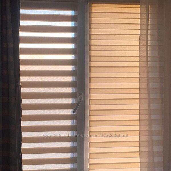 #2: Рулонные шторы день