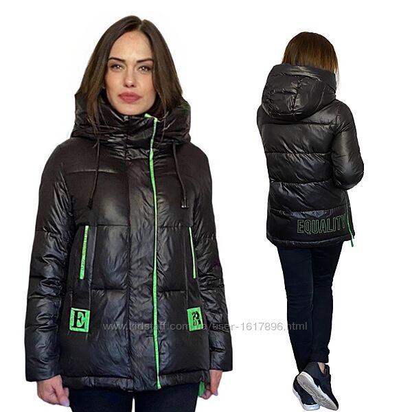 Зимняя куртка пуховик Quiiet Poem фабричный Китай размеры 44/46-52/54
