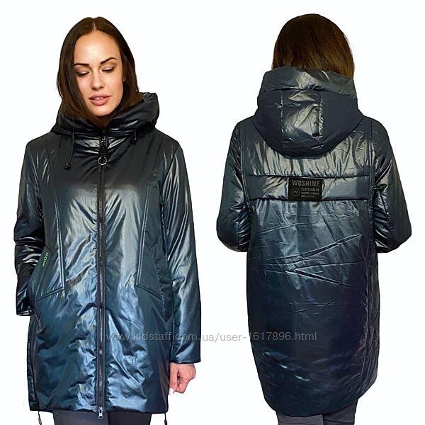 Куртка Женская Большие размеры 50-58 Демисезон   Фабричный Китай
