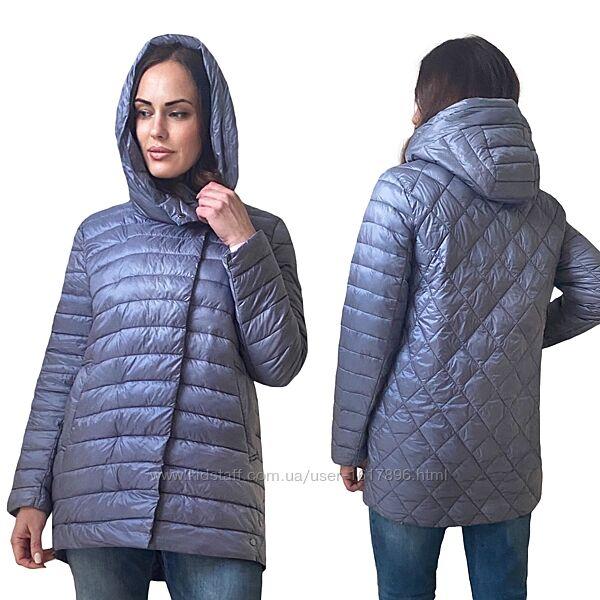 Утепленная Демисезонная Женская Куртка Фабричный Китай Размеры 48-56