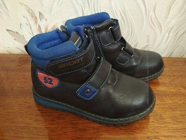 Демисезонные ботиночки EeBb, размер 29, стелька 18 см.
