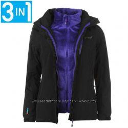 Куртка женская водонепроницаемая Gelert 3 в 1 StormLite 5000 с флиской