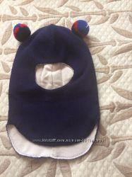 Очень тёплый шлем для мальчугана