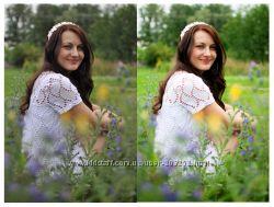 Обработка фотографий в Photoshop, портретная ретушь, цветокоррекция