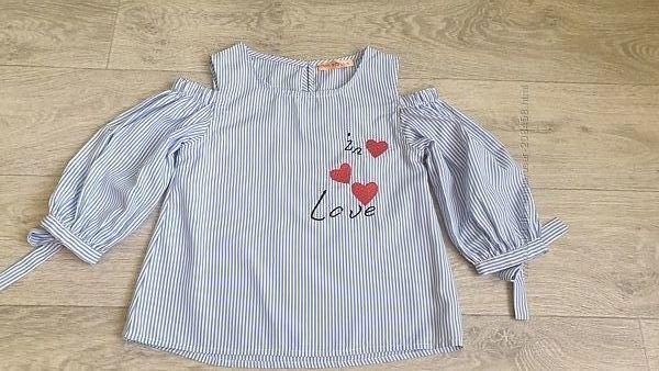 Блуза на 6-8 лет