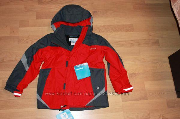 Осенняя куртка Columbia bugaboo, новая. 6-7лет