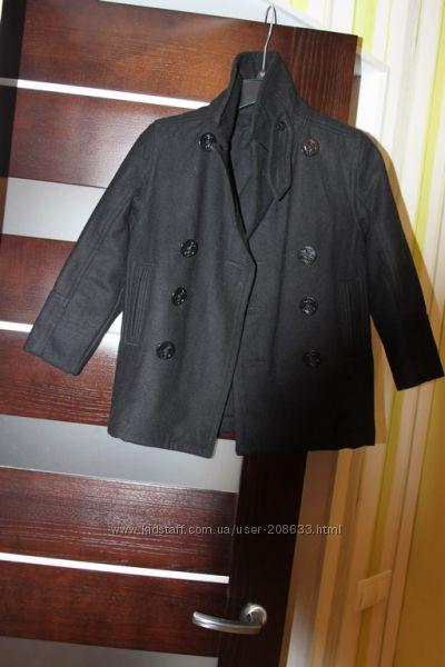 Шерстяное пальто Gap 6-7л