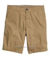 H&M шорты брюки чинос
