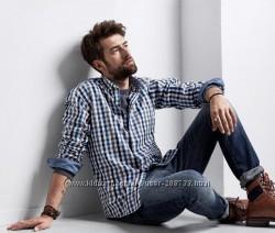 Стильная мужская рубашка из органического хлопка ТСМ Tchibo