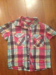 Рубашки для вашего мальчишки на 1-3 года