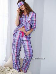 Фланель пижама Victorias Secret оригинал, размер XS. S
