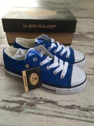 Стильные кеды Dunlop c Англии, размеры 28-32