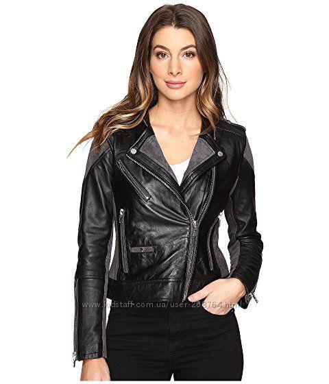 Кожаная куртка из натур кожи бренд Америка размер XS