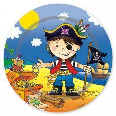 Добрый Пират. Праздничная посуда Пираты.