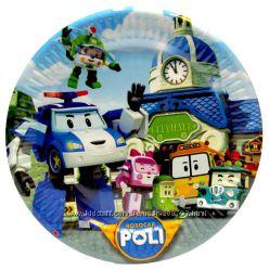 Набор праздничной посуды Робокар Поли