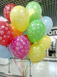 Гелиевые фольгированные шары Киев, Троещина