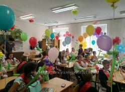 Гелиевые шары на выпускной в садик, школу с доставкой Киев, Воскресенка